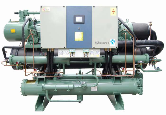 Water Cooled Chiller Low Temperature