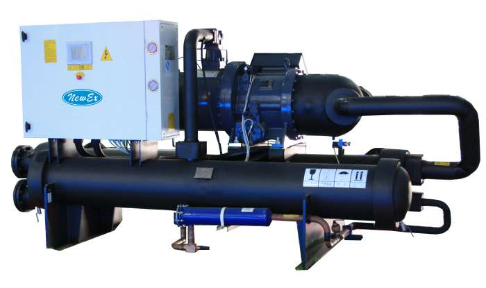 Water Cooled Chiller High Temperature
